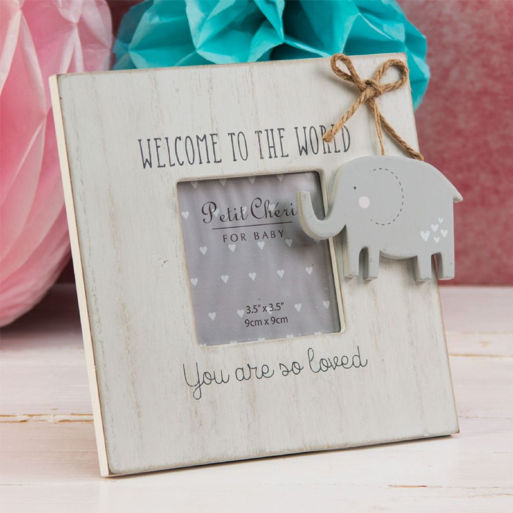 Petit Cheri Frame - Welcome to the World